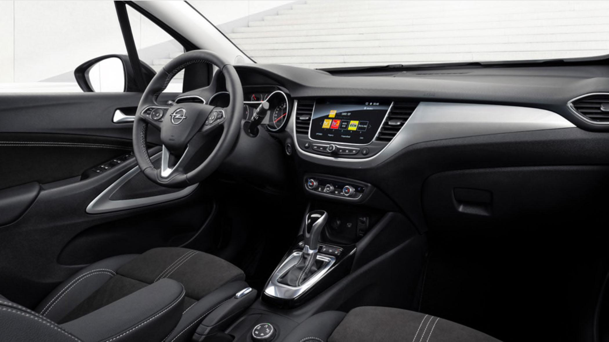 Opel-Crossland-binnenkant