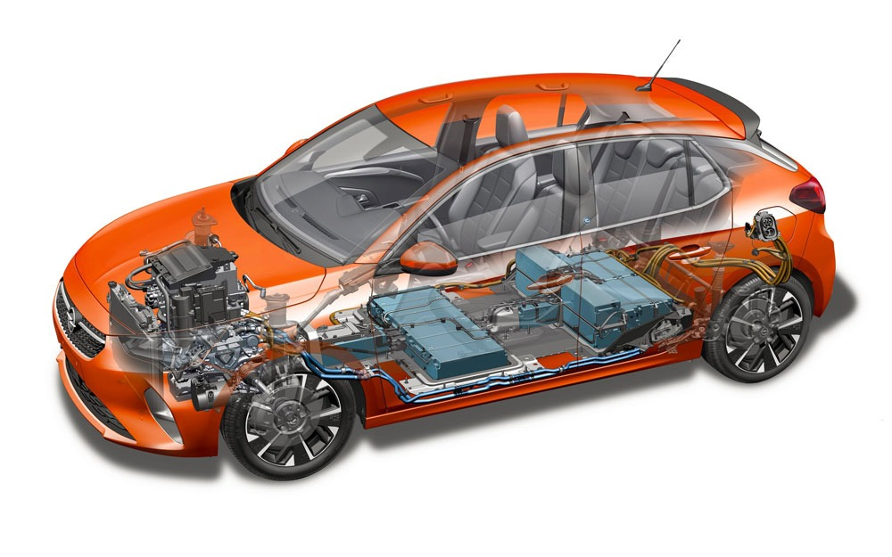 Opel-Corsa-e-de-techniek